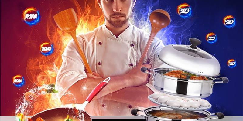 Những điều thú vị trên mẫu bếp từ chefs eh dih2000a