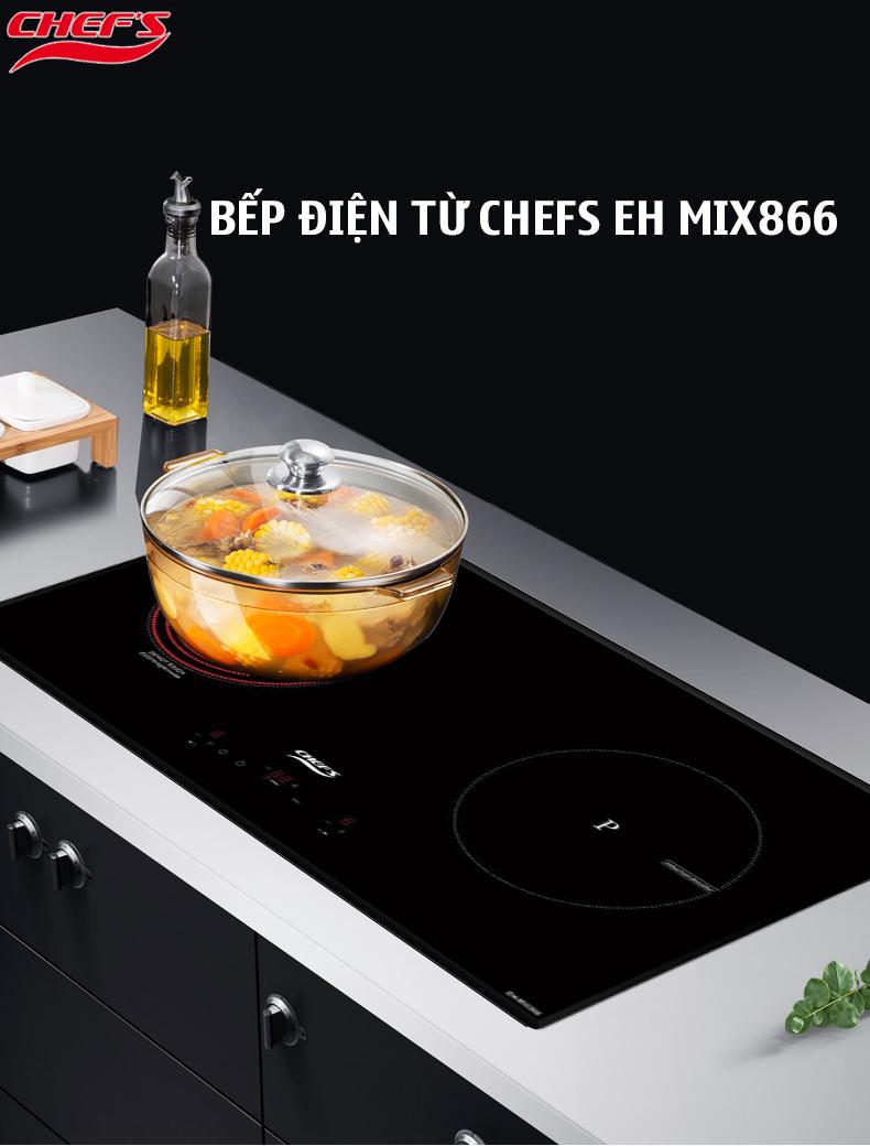 Bếp điện từ Chefs EH MIX866 nhập khẩu Tây Ban Nha liệu có nên mua?