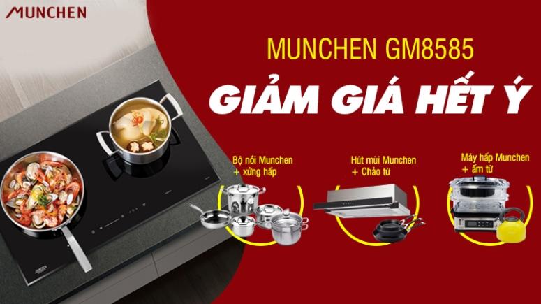 khuyến mãi bếp munchen gm8585